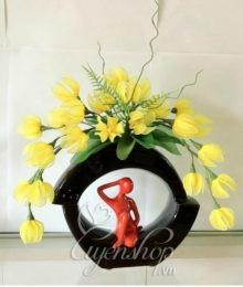 Hoa lụa, hoa giả Uyên shop, Hoa lan suối