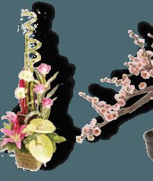 Hoa lụa, hoa giả Uyên shop, Uyên shop – Banner 2