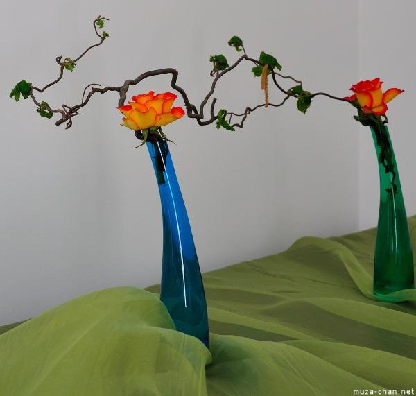 Hoa lụa, hoa giả Uyên shop, Ikebana – Nghệ thuật cắm hoa Nhật Bản