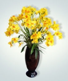 Hoa lụa, hoa giả Uyên shop, Hoa thủy tiên