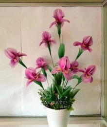 Hoa lụa, hoa giả Uyên shop, Hoa lan bướm