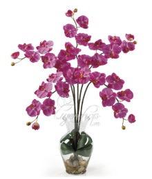 Hoa lụa, hoa giả Uyên shop, Lan Tím