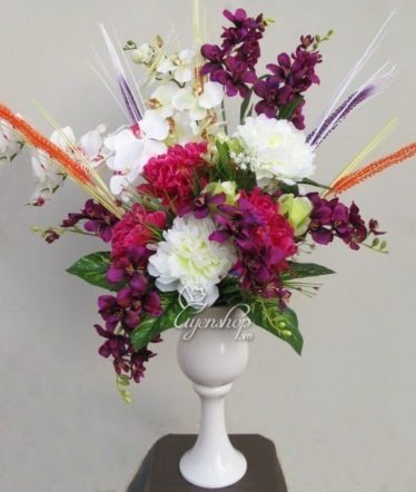 Hoa lụa, hoa giả Uyên shop, Khai Hạ Gặp May