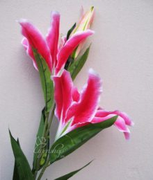 Hoa lụa, hoa giả Uyên shop, Hoa Ly cành
