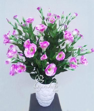 Hoa lụa, hoa giả Uyên shop, Vận may Cát Tường