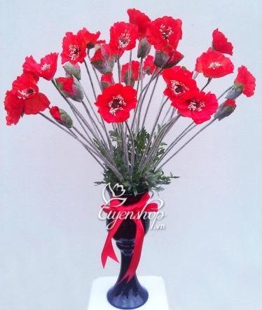 Hoa lụa, hoa giả Uyên shop, Nồng nàn quyến rũ