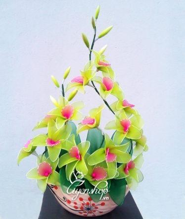 Hoa lụa, hoa giả Uyên shop, Hoa Lan