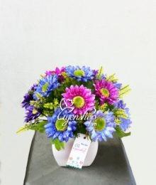 Hoa lụa, hoa giả Uyên shop, Giấc mơ mầu tím