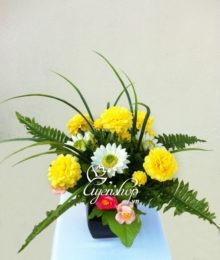 Hoa lụa, hoa giả Uyên shop, Hoa vàng sắc xuân