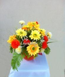 Hoa lụa, hoa giả Uyên shop, Thu vàng