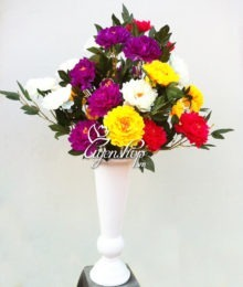 Hoa lụa, hoa giả Uyên shop, Mẫu Đơn Phú Quý