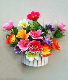 Hoa lụa, hoa giả Uyên shop, Mái nhà hoa
