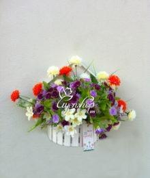 Hoa lụa, hoa giả Uyên shop, Ngôi nhà hoa