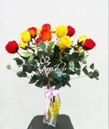 Hoa lụa, hoa giả Uyên shop, Hoa hồng