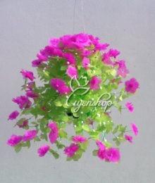 Hoa lụa, hoa giả Uyên shop, Hoa giấy treo tường