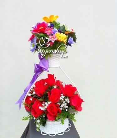 Hoa lụa, hoa giả Uyên shop, Lãng hoa tình yêu