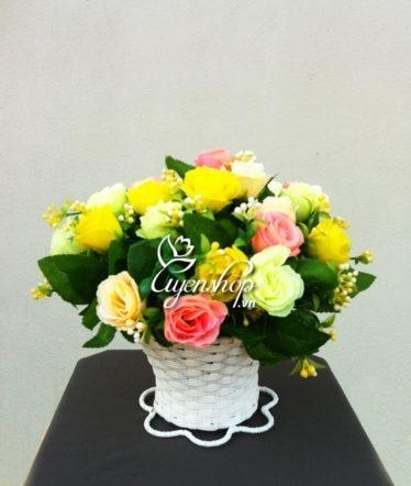 Hoa lụa, hoa giả Uyên shop, Sắc thu