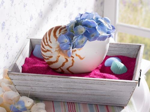uyenshop - hoa xanh - 1