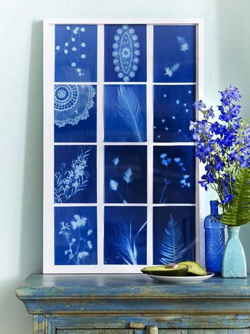 uyenshop - hoa xanh - 2