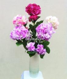 Hoa lụa, hoa giả Uyên shop, Phòng khách sang trọng