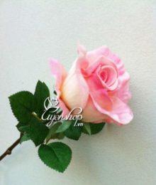 Hoa lụa, hoa giả Uyên shop, Hoa Hồng cành