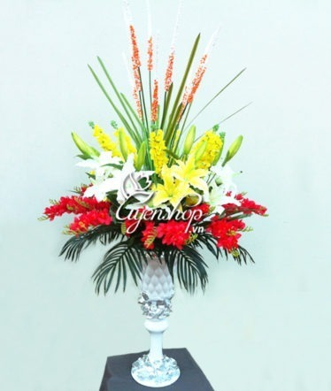 Hoa lụa, hoa giả Uyên shop, Hoa tặng Kỷ niệm