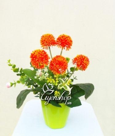 Hoa lụa, hoa giả Uyên shop, Ngũ sắc hoa