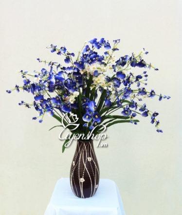 Hoa lụa, hoa giả Uyên shop, Vũ nữ xanh