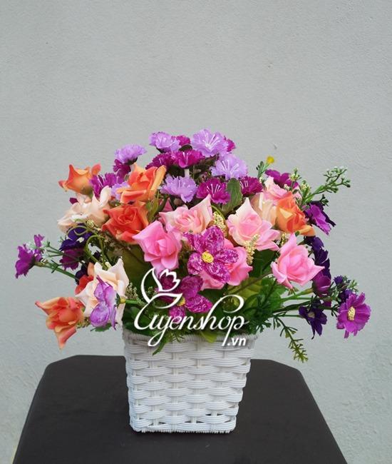 hoa lua - sac hoa - uyenshop