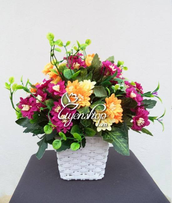 hoa dep de ban - hoa lua - uyenshop