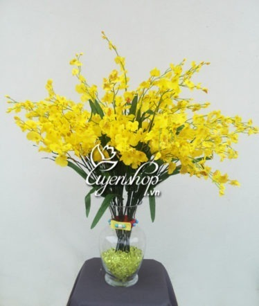 Hoa lụa, hoa giả Uyên shop, Hoa Vũ nữ