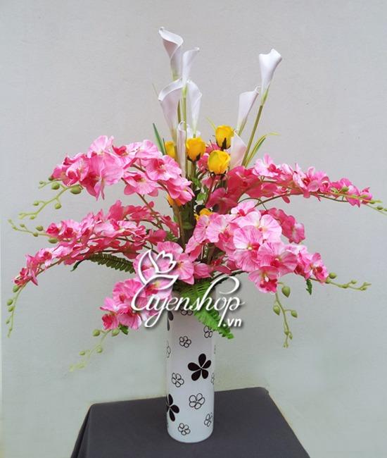 hoa lua - binh lan gam - uyenshop