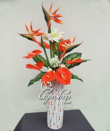 Hoa lụa, hoa giả Uyên shop, Nghệ thuật Thiên điểu