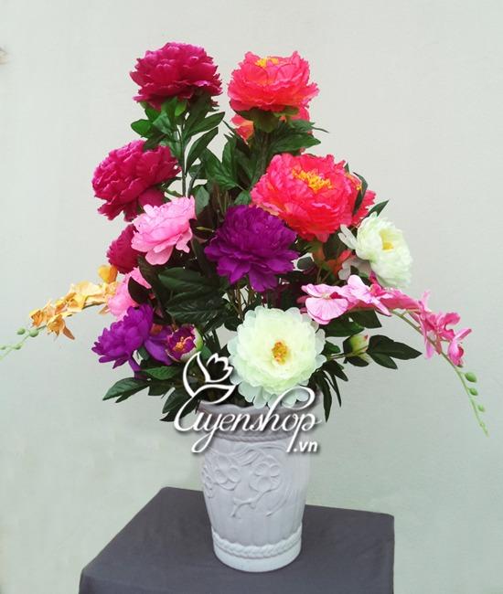 hoa mau don - phong khach 02 - hoa lua - uyenshop