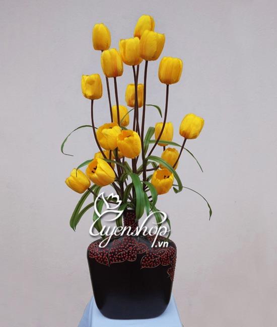 hoa tulip - hoa lua - uyenshop