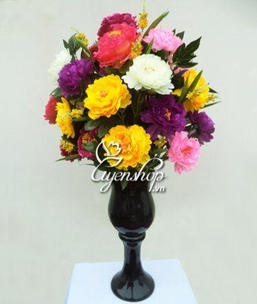 Hoa lụa, hoa giả Uyên shop, Hoa lớn phòng khách