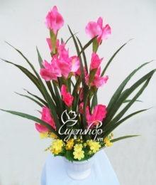 Hoa lụa, hoa giả Uyên shop, Hoa Diên Vĩ