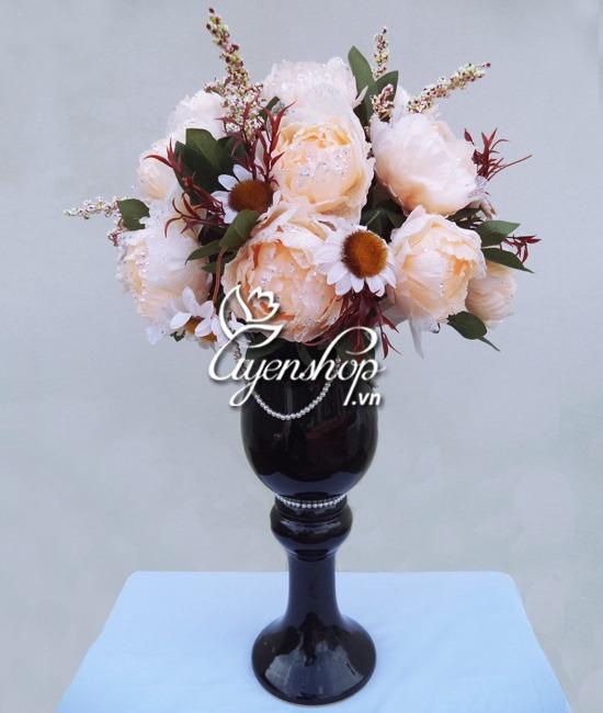 hoa hong ren - hoa lua - uyenshop