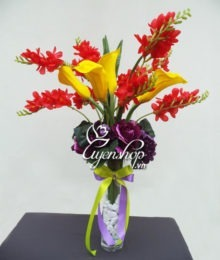 Hoa lụa, hoa giả Uyên shop, Hoa nghệ thuật
