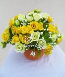 Hoa lụa, hoa giả Uyên shop, Hồng tỉ muội