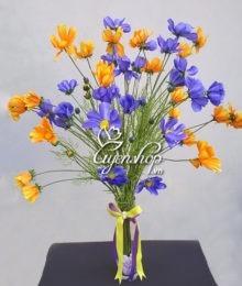 Hoa lụa, hoa giả Uyên shop, Hoa cánh bướm
