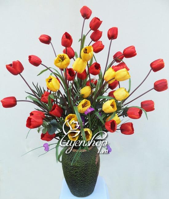 hoa lua tulip - uyenshop