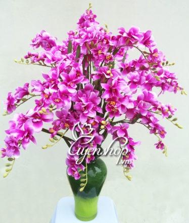 Hoa lụa, hoa giả Uyên shop, Vẻ đẹp Đỗ Quyên