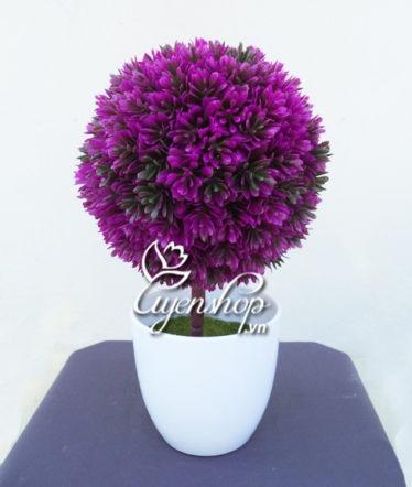 Hoa lụa, hoa giả Uyên shop, Tú cầu nhỏ