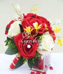 Hoa lụa, hoa giả Uyên shop, Hoa cưới