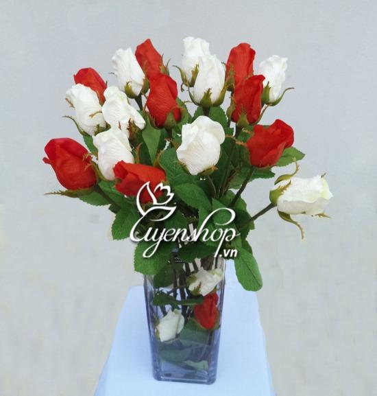 hoa hong gia - hoa gia - uyenshop