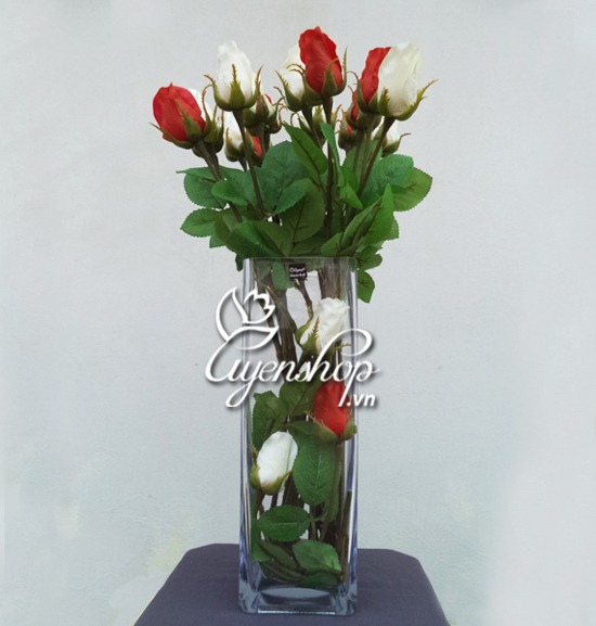 hoa hong gia - hoa lua - uyenshop