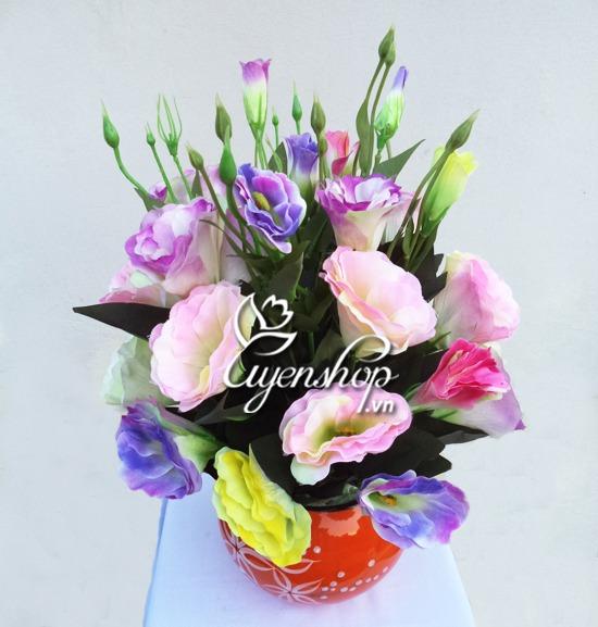 hoa lan tuong - hoa lua - uyenshop