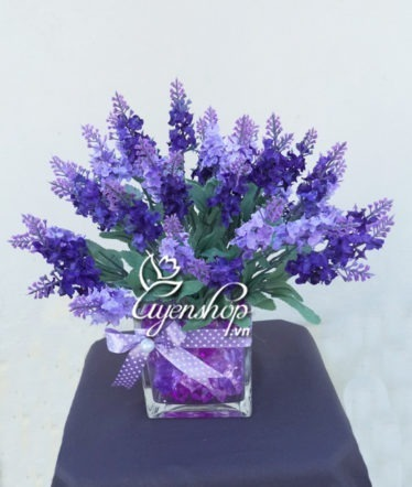 Hoa lụa, hoa giả Uyên shop, Hoa Lavender