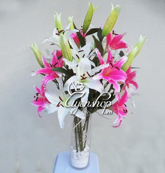 hoa ly - hoa lua uyenshop